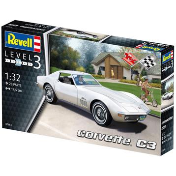 Chevrolet Corvette C3 Stingray (Level 3) (Scale 1:32)