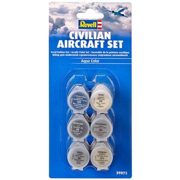 Civilian Aircraft Acrylic Paint Set