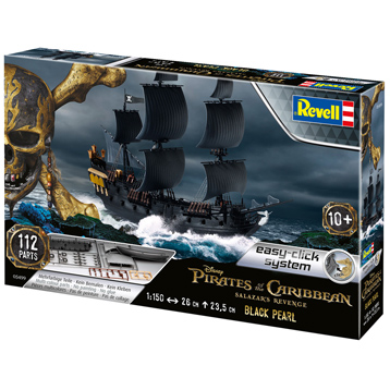 Easy-Click Disney Pirates of The Caribbean Salazar's Revenge Black Pearl (Scale 1:150)