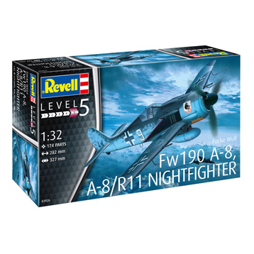 Focke Wulf Fw190 A-8 / A8 R11 Nightfighter