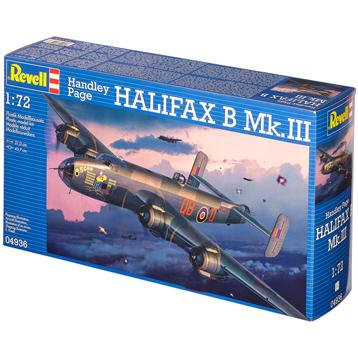 Handley Page Halifax B Mk.III (Scale 1:72)