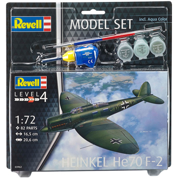 Heinkel He70 F-2 (Level 4) (Scale 1:72)