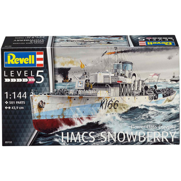 HMCS Snowberry (Level 5) (Scale 1:144)