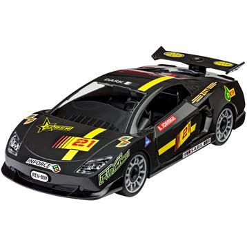 Black Racing Car (Level 1) (Scale 1:20)