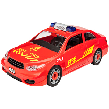 Junior Kit Fire Chief Car (Level 1) (Scale 1:20)