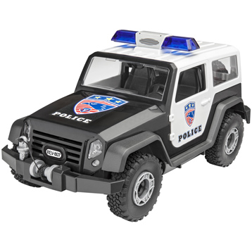 Offroad Police Vehicle (Level 1) (Scale 1:20)