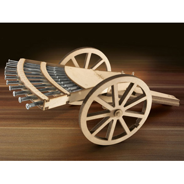 Leonardo da Vinci Multiple Barrel Gun