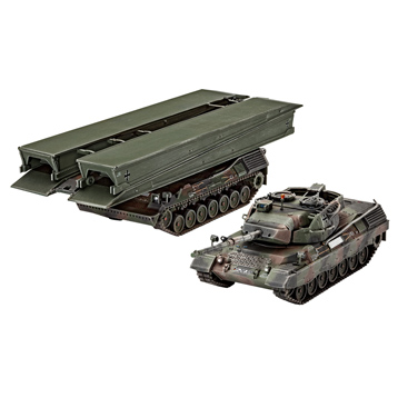 Leopard 1A5 + Biber (Scale 1:72)