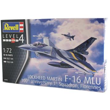 Lockheed Martin F-16 MLU 100th Anniversary (Level 4) (Scale 1:72)