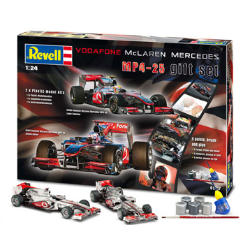 McLaren Mercedes MP4-25 Gift Set