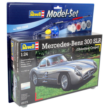 Mercedes-Benz 300 SLR Model Set