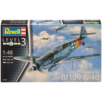 Messerschmitt Bf109 G-10 (Level 3) (Scale 1:48)