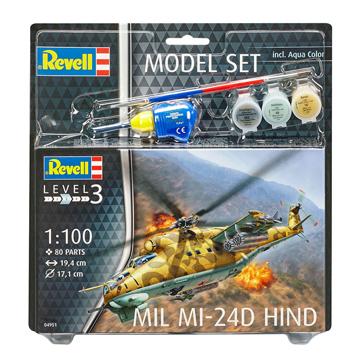 Mil Mi-24D Hind Model Set