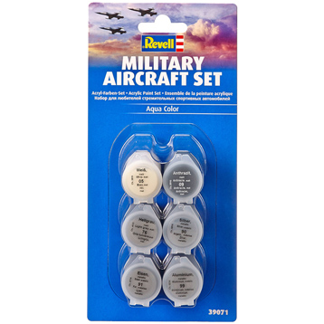 Military Aircraft Acrylic Paint Set