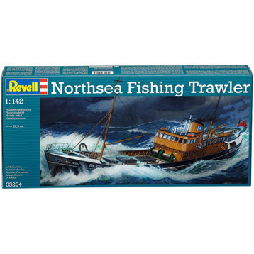 North Sea Fishing Trawler