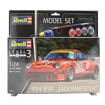 """Porsche 934 RSR """"Jagermeister"""" Model Set"""