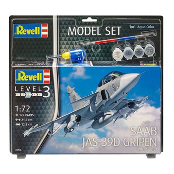 Saab JAS-39D Gripen Twinseater Model Set