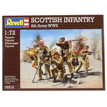 Scottish Infantry 8th Army WWII