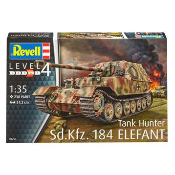 Sd.Kfz. 184 Tank Hunter Elefant  (Scale 1:35)