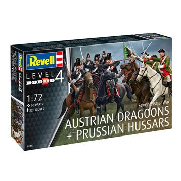 Seven Years War (Austrian Dragoons & Prussian Hussars)