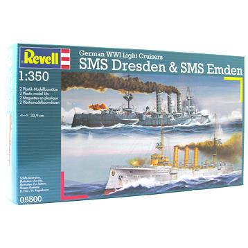 SMS Dresden & SMS Emden
