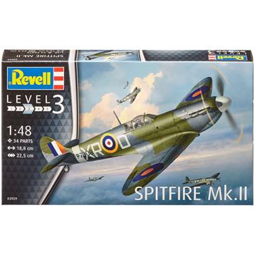 Spitfire Mk.II (Level 3) (Scale 1:48)