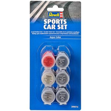 Sports Car Acrylic Paint Set