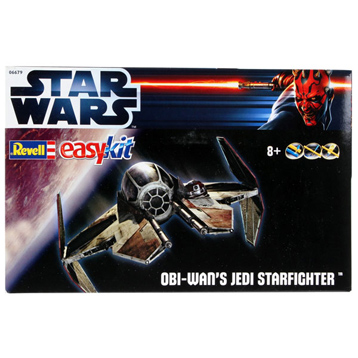 Revell Star Wars Obi-Wans Jedi Starfighter Easy Kit