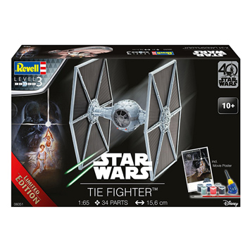 TIE Fighter '40 Years of Star Wars' Model Kit