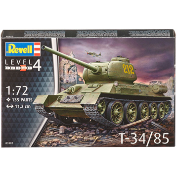 T34/85 (Level 4) (Scale 1:72)