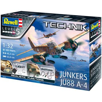 Technik Junkers JU88 A-4 (Level 5) (Scale 1:32)