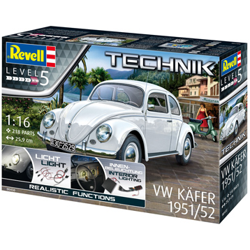 Technik Volkwagen Käfer 1951/52 (Level 5) (Scale 1:16)