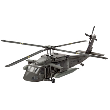 Revell UH-60A (Level 3) (Scale 1:100)
