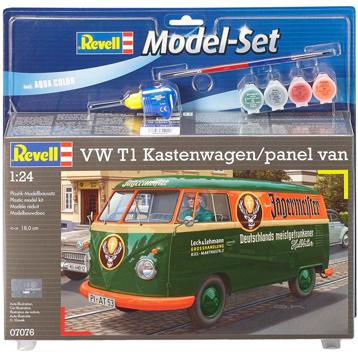 Volkswagen T1 Kastenwagen Panel Van (Level 5) (Scale 1:24)