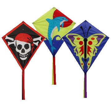 Graphic Diamond Kite