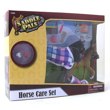 Saddle Pals Horse Care Set
