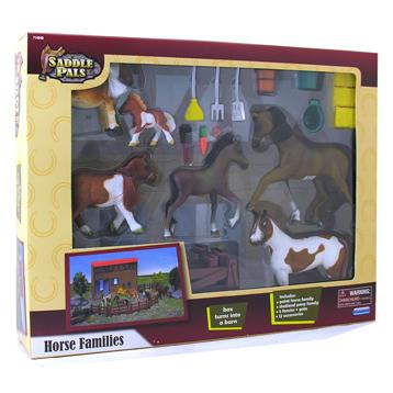 Saddle Pals Horse Families Gift Set