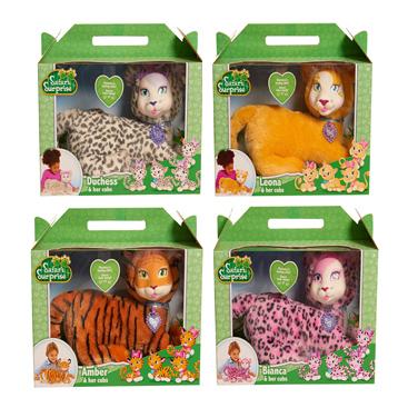 Safari Surprise Plush Assorted