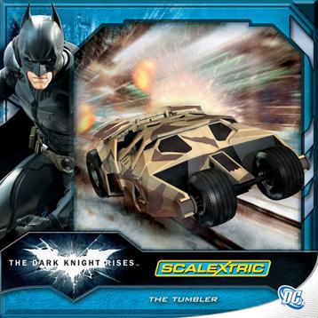 Dark Knight Rises Batman Tumbler Vehicle