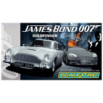 James Bond 007 Aston Martin Set