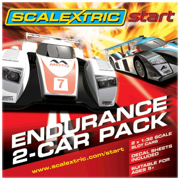 Scalextric Start GT Twin Pack