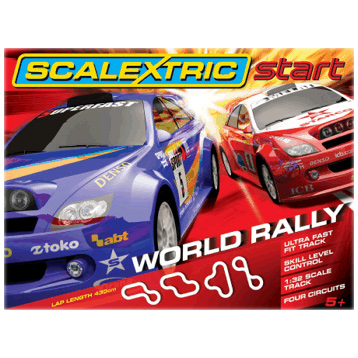 Scalextric Start World Rally