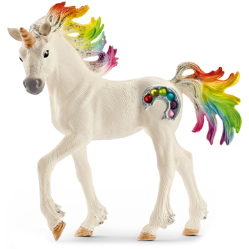 Rainbow Unicorn, Foal