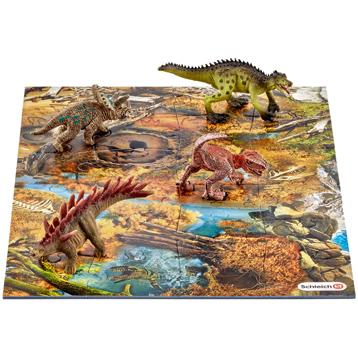 Mini Dinosaurs with Marshland Puzzle