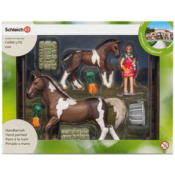 Horse Club Horse Feeding Playset