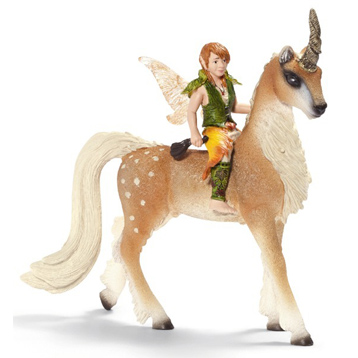 Male Elf on Forest Unicorn