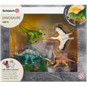 Mini Dinosaur Set 2 (4 Pack)