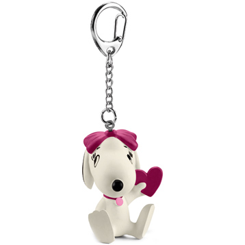 Belle, Holding A Heart Keychain