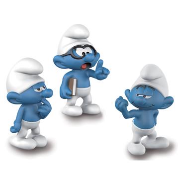 Smurfs Movie Set 1