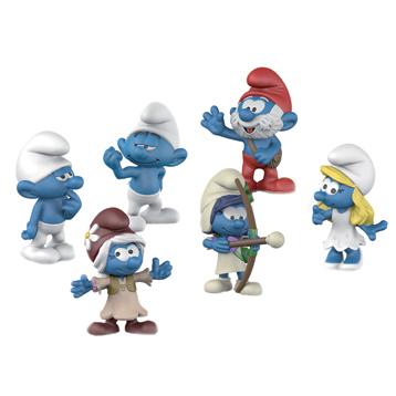 Smurfs Movie Set 3